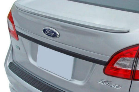 Ford Fiesta 4Dr Factory Lip No Light Spoiler (2011 and UP) - DAR Spoilers