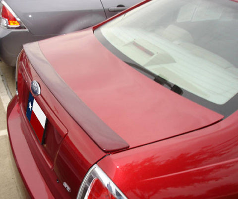 Rear Spoilers - Ford Fusion Custom Lip No Light Spoiler (2006-2012)