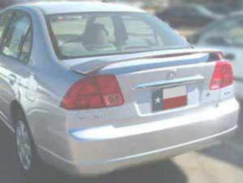 Rear Spoilers - Ford Fusion Custom Post Lighted Spoiler (2006-2012)