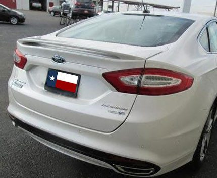 Ford Fusion Factory Post No Light Spoiler (2013 and UP) - DAR Spoilers