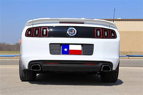 Rear Spoilers - Ford Mustang 3 Piece Factory Flush No Light Spoiler (2010-2014)