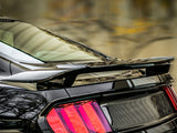 "Ford Mustang ""Black Mamba"" Custom Post No Light Spoiler (2015 and UP) - DAR Spoilers"