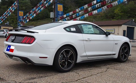 "Ford Mustang Coupe ""California Special"" Factory 3Post No Light Spoiler (2015 and UP) - DAR Spoilers"