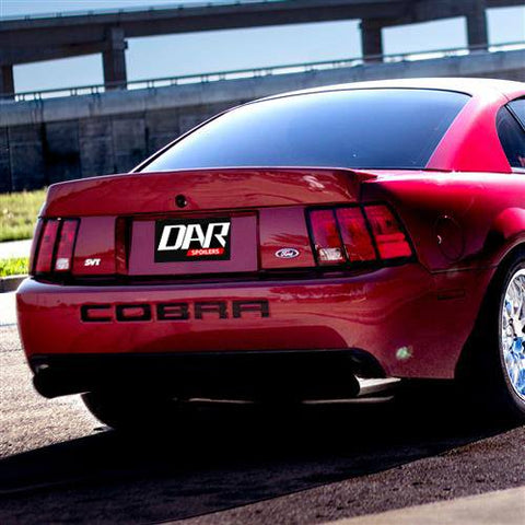 "Ford Mustang ""Cobra Style"" Custom Flush No Light Spoiler (1999-2004) - DAR Spoilers"