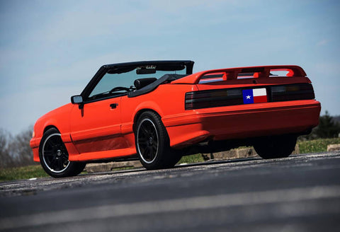 "Ford Mustang Coupe/Convertible ""Cobra Style"" Factory 4Post W/Cutout Spoiler (1979-1993) - DAR Spoilers"