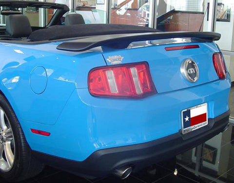 Ford Mustang Custom Post No Light Spoiler (2010-2014) - DAR Spoilers