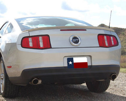 Ford Mustang Factory Lip No Light Spoiler (2010-2014) - DAR Spoilers
