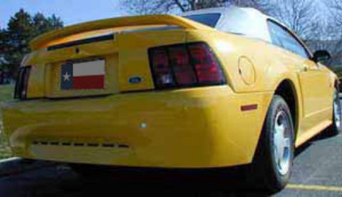 "Ford Mustang ""GT"" Factory Post No Light Spoiler (1999-2004) - DAR Spoilers"