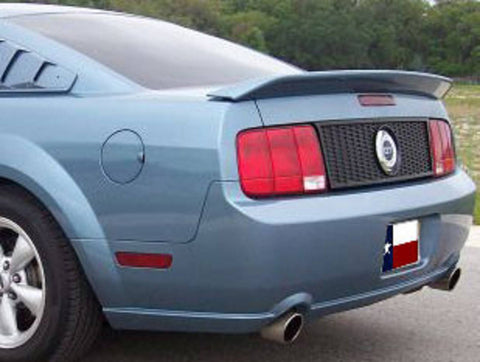 Ford Mustang GT500 Factory Flush No Light Spoiler (2005-2009) - DAR Spoilers