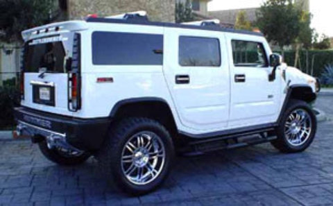 Rear Spoilers - General Motors Hummer H2 Custom Roof No Light Spoiler (2003-2010)