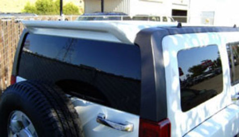 Rear Spoilers - General Motors Hummer H3 Custom Roof No Light Spoiler (2005-2010)
