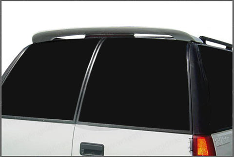 Gmc Yukon Custom Roof No Light Spoiler (2002-2005) - DAR Spoilers