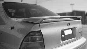 Rear Spoilers - Honda Accord 2 Dr / 4 Dr Factory Post Lighted Spoiler (1994-1995)