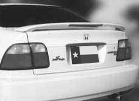 Rear Spoilers - Honda Accord 2 Dr / 4 Dr Factory Post Lighted Spoiler (1996-1997)