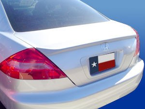Honda Accord 2 Dr Factory Lip No Light Spoiler (2003-2005) - DAR Spoilers