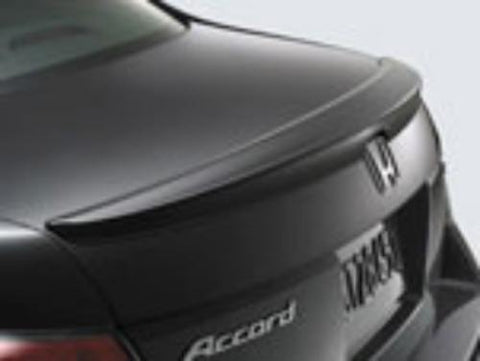 Honda Accord 4 Dr Factory Lip No Light Spoiler (2008-2012) - DAR Spoilers