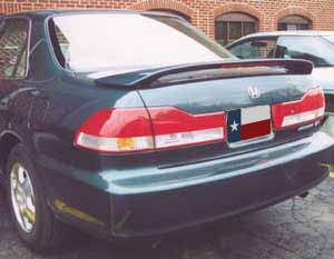 Rear Spoilers - Honda Accord 4-Dr Factory Post Lighted Spoiler (2001-2002)