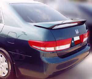 Rear Spoilers - Honda Accord 4-Dr Factory Post Lighted Spoiler (2003-2005)