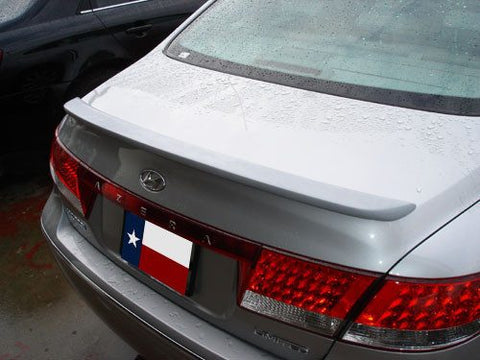 Hyundai Azera Custom Lip No Light Spoiler (2006-2012) - DAR Spoilers
