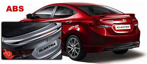 Hyundai Elantra Factory Post Lighted Spoiler (2011-2016) - DAR Spoilers