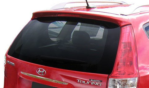 Hyundai Elantra Touring (Wagon) Factory Roof No Light Spoiler (2009 and UP) - DAR Spoilers