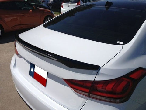 Hyundai Genesis Sedan Custom Lip No Light Spoiler (2015 and UP) - DAR Spoilers