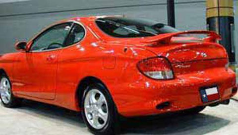 Rear Spoilers - Hyundai Tiburon Factory Post Lighted Spoiler (2000-2002)