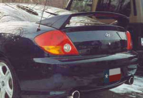 Hyundai Tiburon Factory Post W/Light Spoiler (2003 and UP) - DAR Spoilers