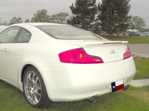 Rear Spoilers - Infiniti G35 Coupe Factory Flush Lighted Spoiler (2003-2007)