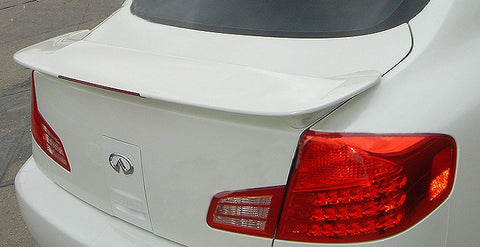 Rear Spoilers - Infiniti G35 Sedan Factory Post Lighted Spoiler (2003-2006)