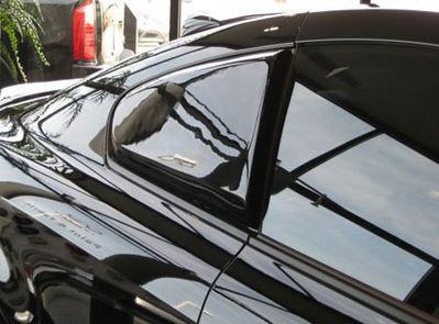 Infiniti G37 Coupe Custom Side Window No Light Spoiler (2008 and UP) - DAR Spoilers