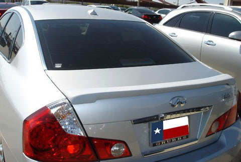 Infiniti M35/M45 (Large) Custom Lip No Light Spoiler (2008-2010) - DAR Spoilers