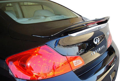 Infiniti Q40 Sedan Factory Post Lighted Spoiler (2015 and UP) - DAR Spoilers