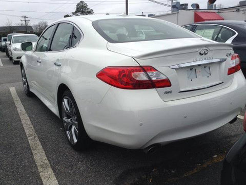 Rear Spoilers - Infiniti Q70 Factory Flush No Light Spoiler (2015 And UP)
