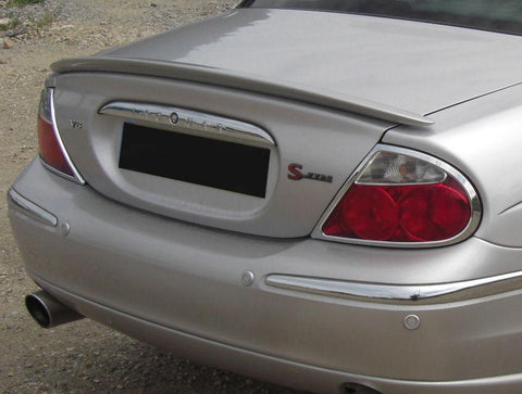 Jaguar S Type-R Factory Lip No Light Spoiler (2000-2004) - DAR Spoilers