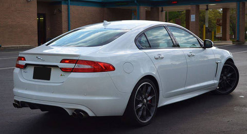 Jaguar Xf Sedan Factory Lip No Light Spoiler (2009 and UP) - DAR Spoilers