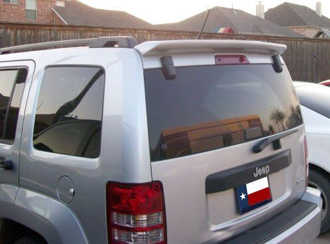 Rear Spoilers - Jeep Liberty Custom Roof No Light Spoiler (2007 And UP)