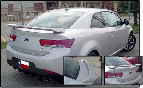 Kia Forte Koup Custom Post Lighted Spoiler (2010-2013) - DAR Spoilers