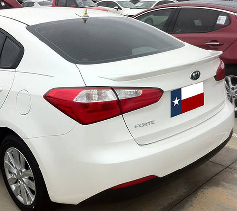 Kia Forte Sedan Custom Flush No Light Spoiler (2014 and UP) - DAR Spoilers