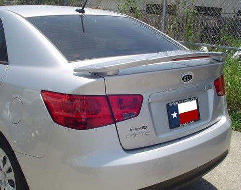 Kia Forte Sedan Custom Post Lighted Spoiler (2010-2013) - DAR Spoilers