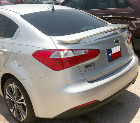 Kia Forte Sedan Custom Post Lighted Spoiler (2014 and UP) - DAR Spoilers
