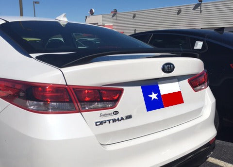 Rear Spoilers - Kia Optima Custom 2Post No Light Spoiler (2016 And UP)