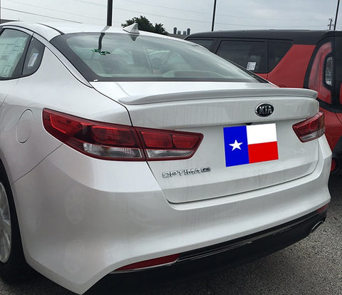Kia Optima Custom Lip No Light Spoiler (2016 and UP) - DAR Spoilers