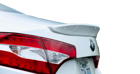 Kia Optima Factory Lip No Light Spoiler (2011-2013) - DAR Spoilers