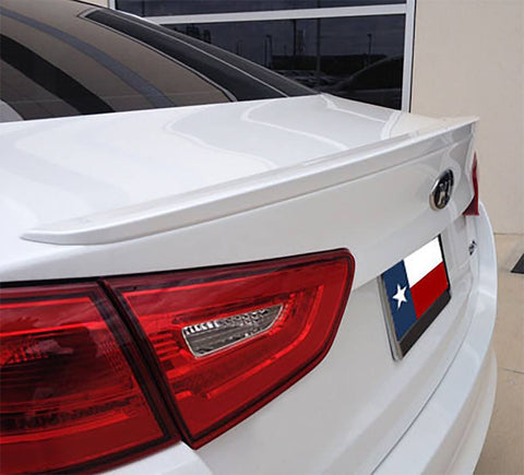 Kia Optima Factory Lip No Light Spoiler (2014-2015) - DAR Spoilers