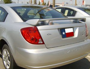 Kia Rio Sedan Custom Post No Light Spoiler (2006-2011) - DAR Spoilers
