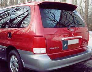 Rear Spoilers - Kia Sedona Factory Roof No Light Spoiler (2002-2005)