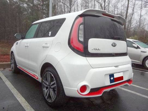 Rear Spoilers - Kia Soul Factory Roof No Light Spoiler (2014 And UP)