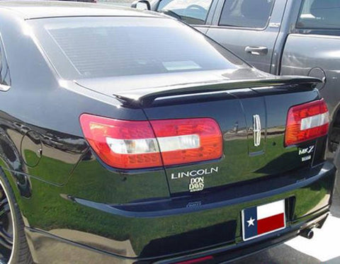 Rear Spoilers - Lincoln Zephyr/Mkz Custom Post No Light Spoiler (2006 And UP)
