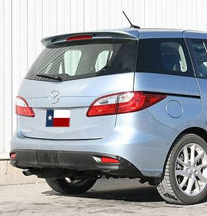 Mazda 5 Hatchback Factory Post No Light Spoiler (2012 and UP) - DAR Spoilers